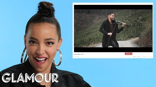 Tinashe Watches Fan Covers on YouTube | Glamour