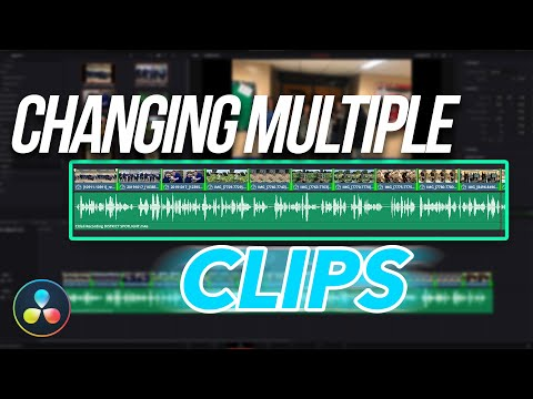 EDIT FASTER | Changing Multiple Clips at Once with the TRIM TOOL | Davinci Resolve 16 Quick Tip!