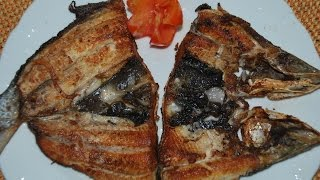 Quick Menu: Pinoy Daing na Bangus (Marinated Milkfish)