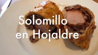 Solomillo Wellington o solomillo con hojaldre - Recetas de cocina