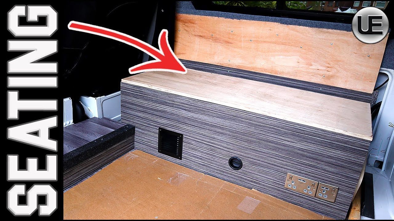 BUILDING a Camper Van Seating Area In a VW Crafter