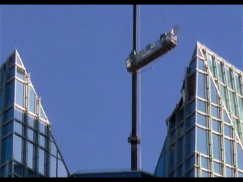 Trapped Window Washers Swing Wildly Above Oklahoma High-Rise  NBC New York