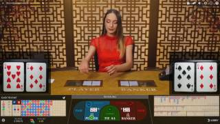 £600 Start Live Dealer Baccarat Control Squeeze Session