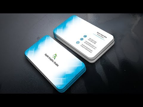 How To Design a Professional Business Card - Photoshop Tutorial