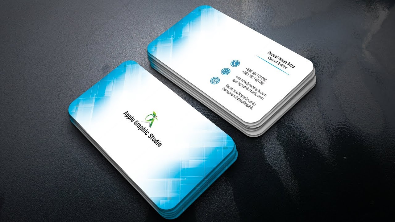 How to design a professional business card photoshop tutorial how to design a professional business card photoshop tutorial colourmoves Image collections