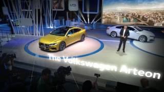 Volkswagen Arteon Augmented reality presentation