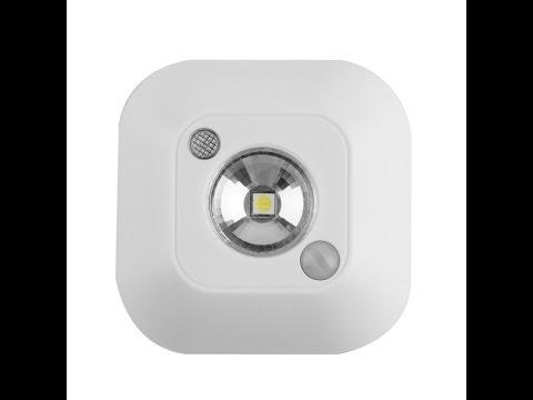 датчиком светильник-ночник движения с фото