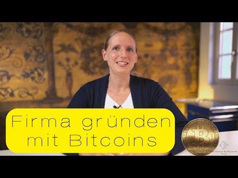 Firma gründen mit Bitcoins