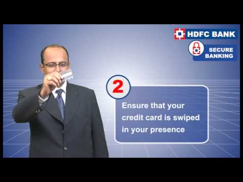 6 Simple Steps to ensure credit card security - HDFC Bank MONEY TALK