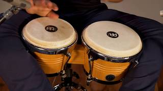 MEINL Percussion Latin Styles on Bongos - WB200SNT-M