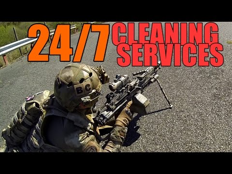 AIRSOFT WAR | TBC | 24/7 CLEANING SERVICES ( ENGLISH SUBS )