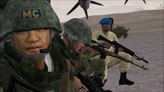 Arma 2: Operation Arrowhead latino | Regimiento 101 | Evacuación (Co-op gameplay) [Español]