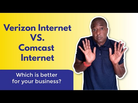 Verizon VS. Comcast / FIOS Or Broadband - Which Business Internet Service Is The Best?
