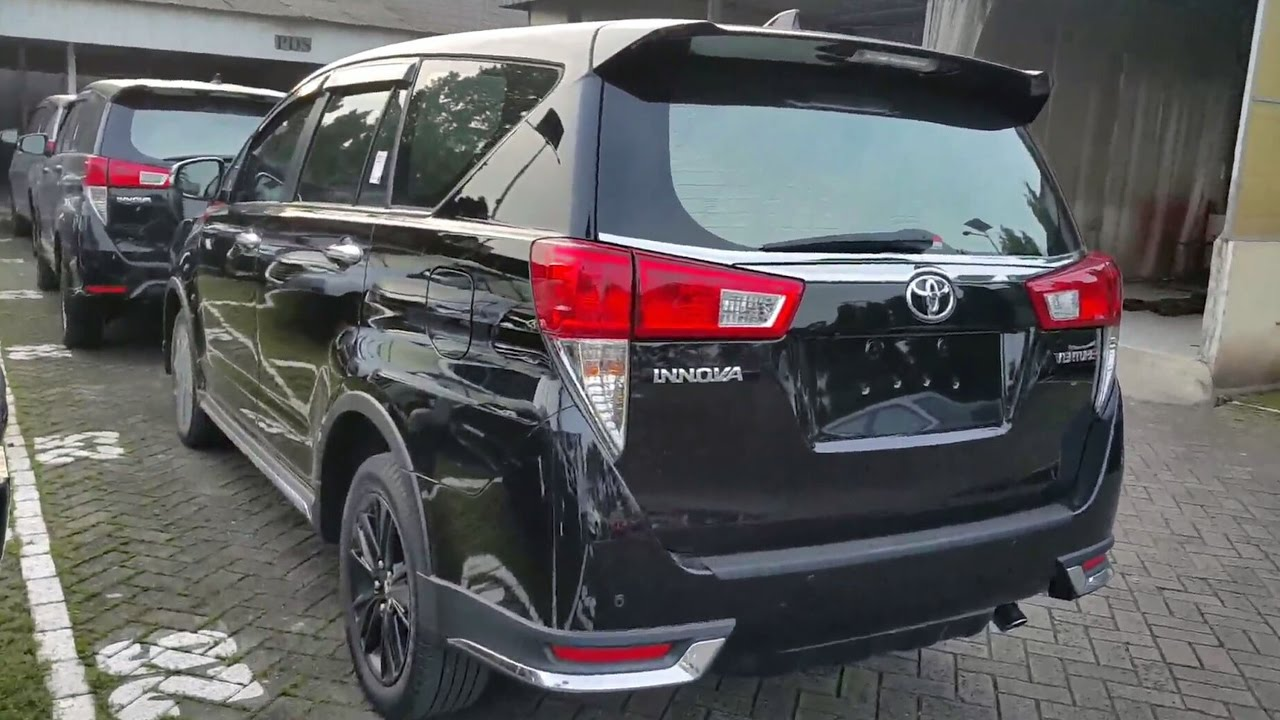 all new kijang innova venturer toyota grand avanza 2016 2017 black youtube