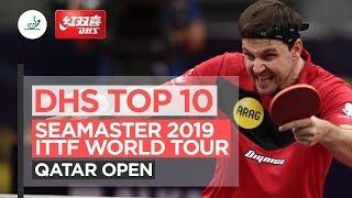 10 лучших розыгрышей | 2019 ITTF Qatar Open
