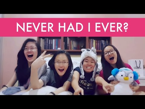 NEVER HAD I EVER? | Gienne, Nedd, Alanis & Michelle