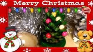 Diy Christmas Decoration Ideas - Little Christmas Trees Made With Pine Cones