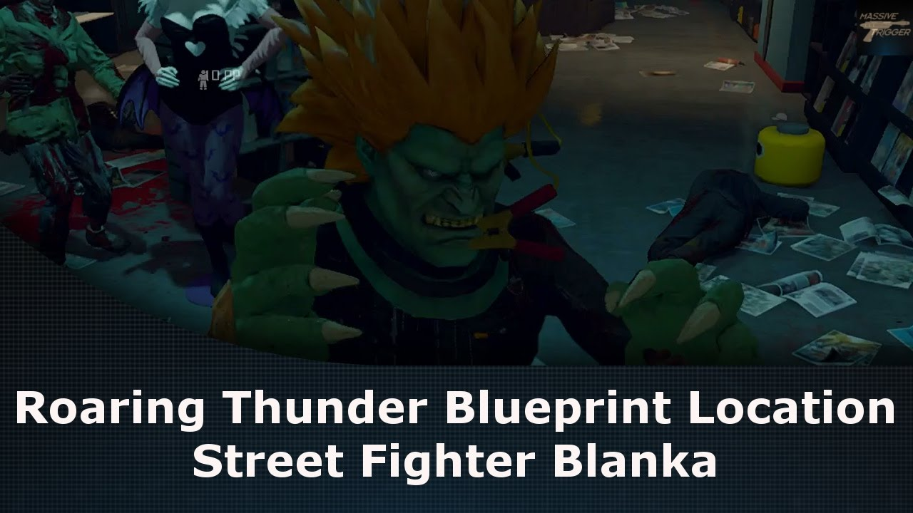 Dead rising 4 how to find roaring thunder blueprint location dead rising 4 how to find roaring thunder blueprint location street fighter blanka malvernweather Image collections