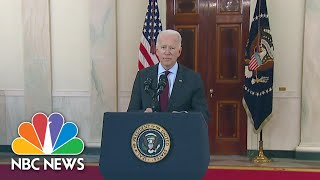Biden Criticized By Some Democrats For Syria Airstrike | NBC Nightly News