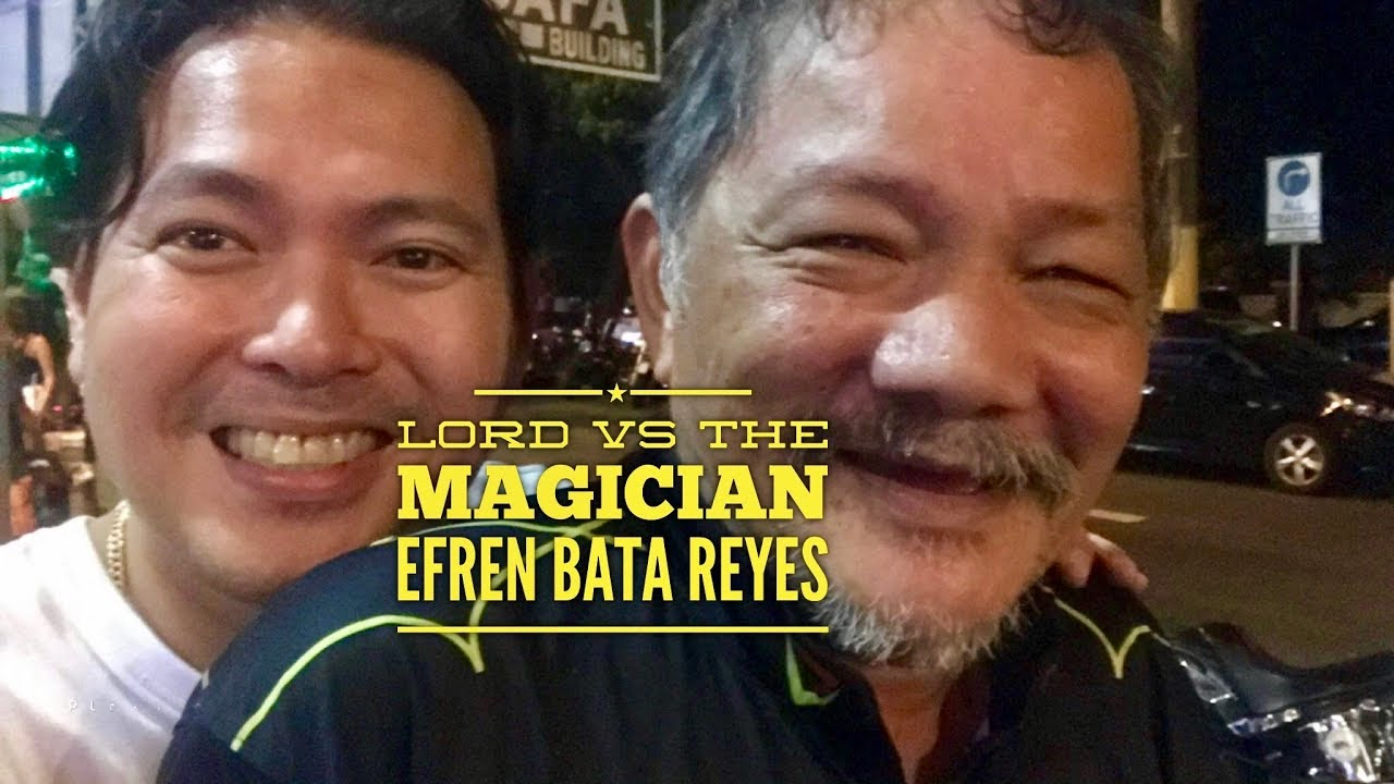 2018 Lord Vs. The Magician Efren Bata Reyes Best Pool Player in the World  and of all time!