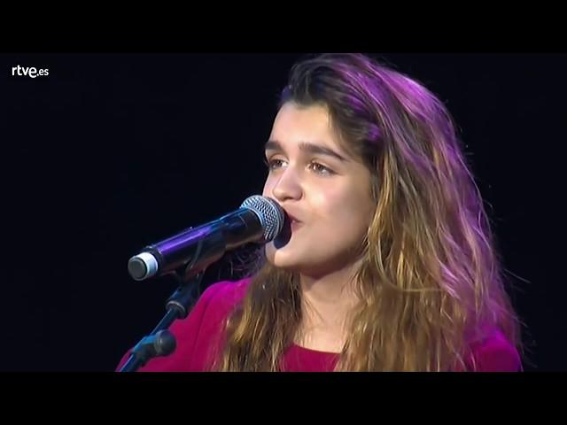 #ESPreParty2018 - Amaia - Al cantar