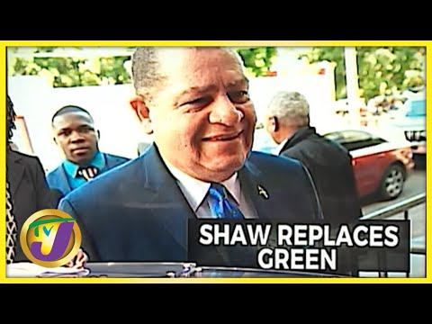 Shaw Replaces Green | TVJ News - Sept 15 2021