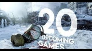 20 NEW Upcoming Games of 2018 & 2019   PS4 Xbox One PC