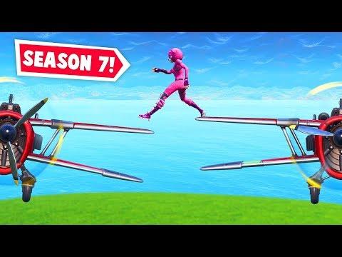 SEASON 7: Insane plane stunts! (Fortnite Funniest Moments EVER #31) thumbnail