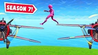 SEASON 7: Insane plane stunts! (Fortnite Funniest Moments EVER #31)