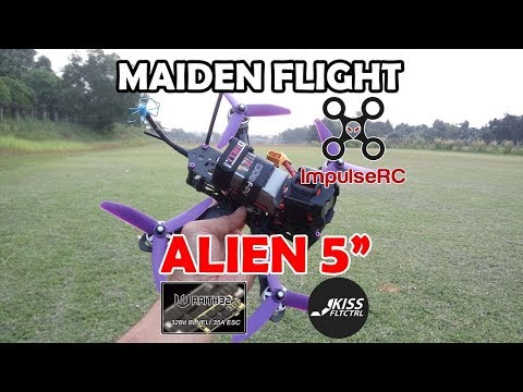 "Alien 5"" KISS FC - Wraith32 - Maiden Flight"