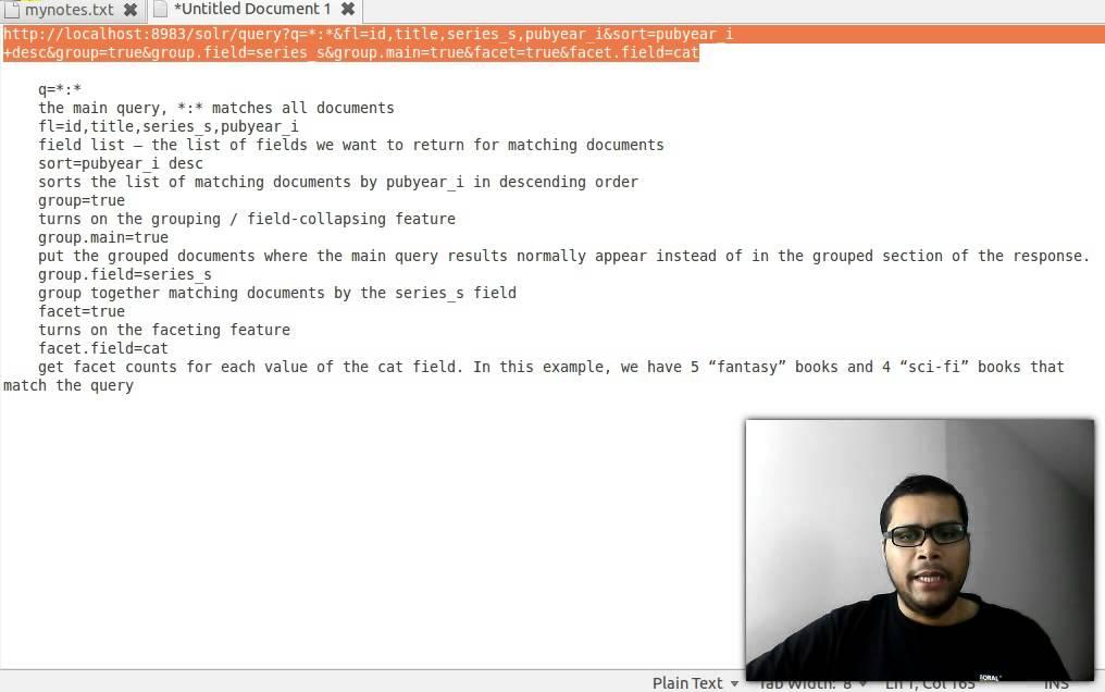 Apache solr tutorial   technology to explore.