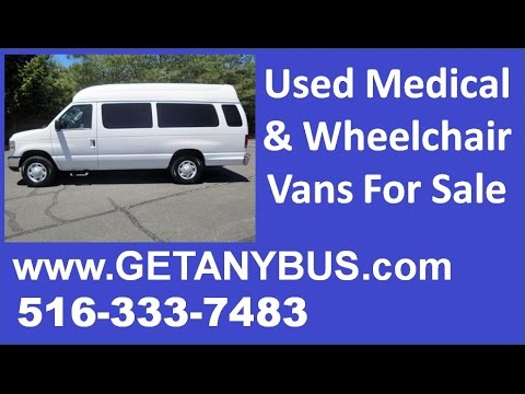 Wheelchair vans for sale Syracuse NY | 2006 Ford E-250 Wheelchair Handicap Van For Sale in New York