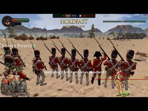 HoldFast: Nations At War 23rd Royal Welch Fusiliers 08/03/18 Thursday Line Battle