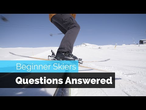 BEGINNER SKIERS QUESTIONS ABOUT FREESTYLE SKIING ANSWERED