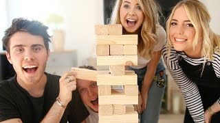 COUPLES GIANT JENGA CHALLENGE