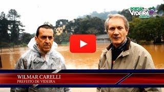 ENCHENTE 2014 VIDEIRA/ SC - Cobertura completa Portal de Videira