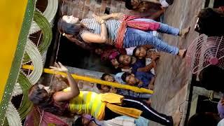 tip tip barsa pani hot night arkestra stage performance viral today dance akshya raveena alia bhatt