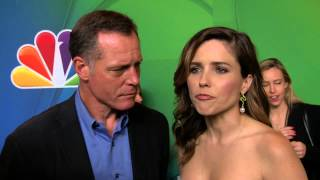 CHICAGO P.D.: Jason Beghe & Sophia Bush NBC Upfronts TV Interview