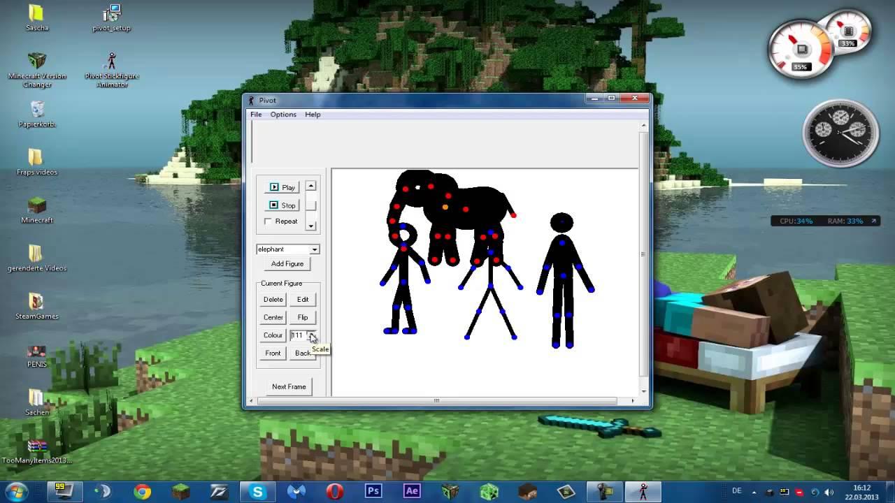 definition of pivot animator