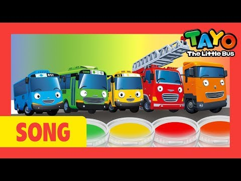 Tayo color song - Ten in the bed and more (60mins) l Nursery Rhymes l Tayo the Little Bus