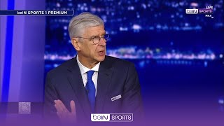 PSG collapsed mentally when Man City equalised | beIN Exclusive with Arsene Wenger