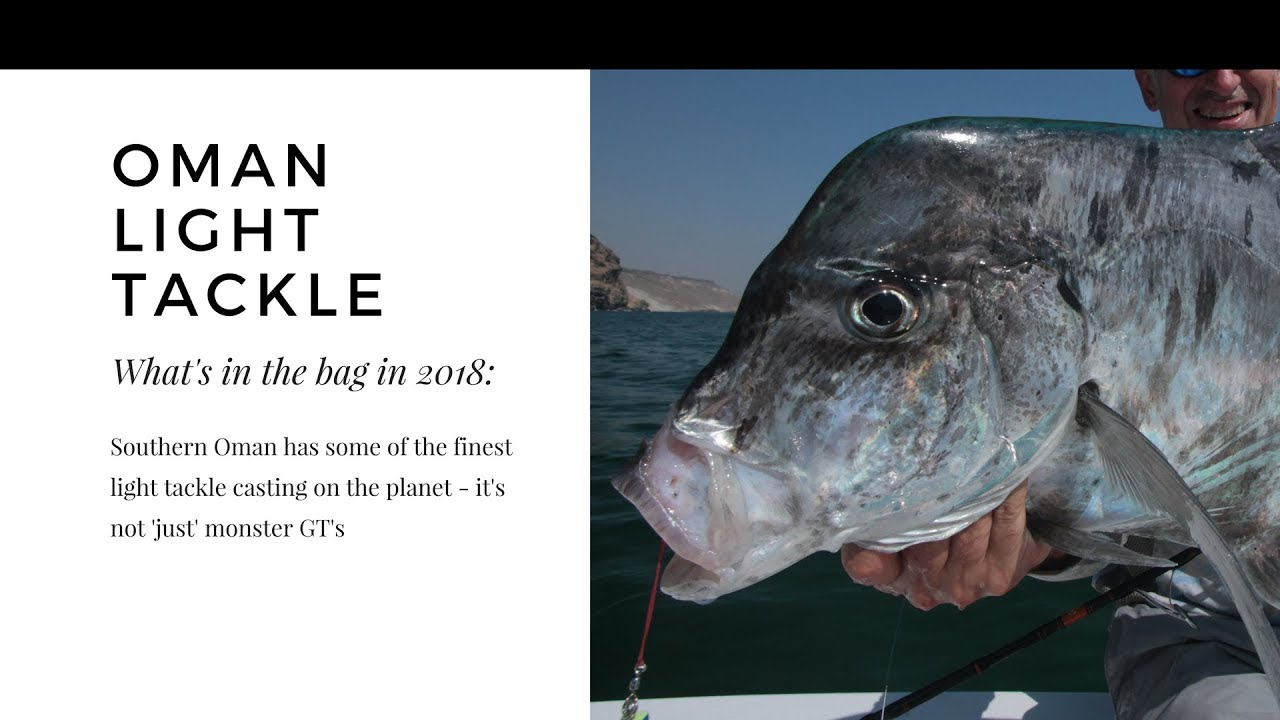 Inshore Lure Selection for Oman - Insane Light Tackle Fishing