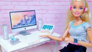 9 DIY Miniature Gadgets for Barbie / Clever Barbie Hacks and Crafts