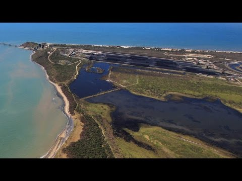 Abbot Point coal pollution revealed by drone