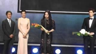 150526 Fx Krystal & Park Shin hye & Seolhyun @ Baeksang Arts Awards