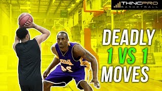 How to: Beat ANYBODY in 1 VS 1 Basketball!!! BEST 1 ON 1 BASKETBALL MOVES