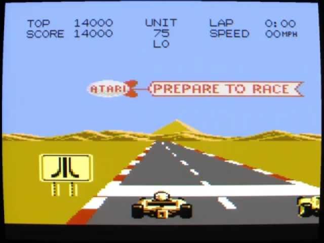 Atari 7800 Pole Position II