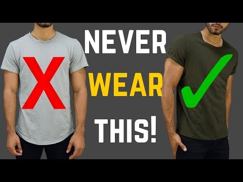 10 Things Men SHOULD NEVER Wear!