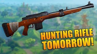 NEW GUN BEING ADDED TOMORROW! - 1000+ Wins - Fortnite Battle Royale Gameplay - (PS4 PRO)