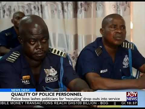 Quality of Police Personnel - News Desk on Joy News (2-11-17))
